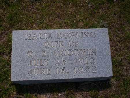 DOWLING GOODWIN, MARIE - Union County, Arkansas | MARIE DOWLING GOODWIN - Arkansas Gravestone Photos