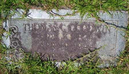 GOODWIN, THOMAS C - Union County, Arkansas | THOMAS C GOODWIN - Arkansas Gravestone Photos