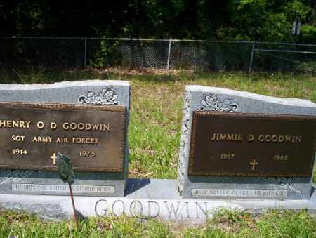 GOODWIN (VETERAN), HENRY O D - Union County, Arkansas | HENRY O D GOODWIN (VETERAN) - Arkansas Gravestone Photos