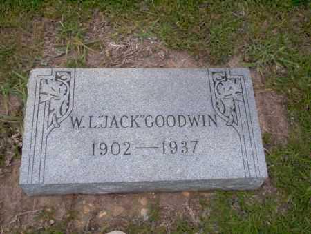 "GOODWIN, W.L.  ""JACK"" - Union County, Arkansas   W.L.  ""JACK"" GOODWIN - Arkansas Gravestone Photos"
