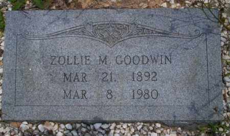 GOODWIN, ZOLLIE M - Union County, Arkansas | ZOLLIE M GOODWIN - Arkansas Gravestone Photos