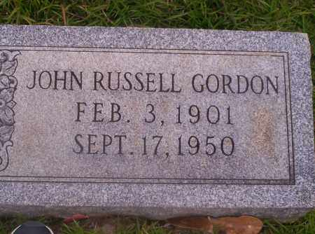GORDON, JOHN RUSSELL - Union County, Arkansas | JOHN RUSSELL GORDON - Arkansas Gravestone Photos