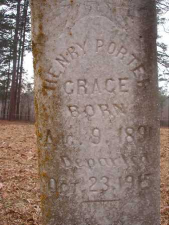 GRACE, HENRY PORTER - Union County, Arkansas | HENRY PORTER GRACE - Arkansas Gravestone Photos