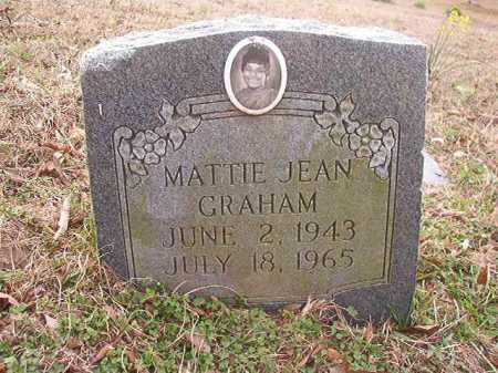 GRAHAM, MATTIE JEAN - Union County, Arkansas | MATTIE JEAN GRAHAM - Arkansas Gravestone Photos