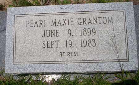 GRANTOM, PEARL MAXIE - Union County, Arkansas | PEARL MAXIE GRANTOM - Arkansas Gravestone Photos
