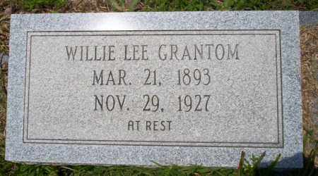 GRANTOM, WILLIE LEE - Union County, Arkansas | WILLIE LEE GRANTOM - Arkansas Gravestone Photos