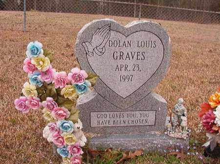 GRAVES, DOLAN LOUIS - Union County, Arkansas | DOLAN LOUIS GRAVES - Arkansas Gravestone Photos