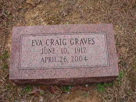 CRAIG GRAVES, EVA - Union County, Arkansas | EVA CRAIG GRAVES - Arkansas Gravestone Photos
