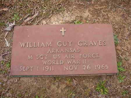 GRAVES (VETERAN WWII), WILLIAM GUY - Union County, Arkansas | WILLIAM GUY GRAVES (VETERAN WWII) - Arkansas Gravestone Photos