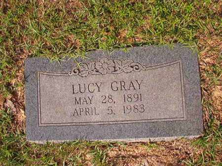 GRAY, LUCY - Union County, Arkansas | LUCY GRAY - Arkansas Gravestone Photos