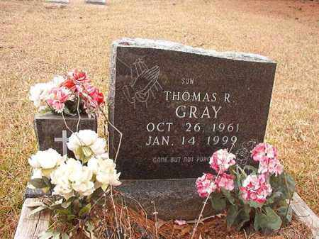 GRAY, THOMAS R - Union County, Arkansas | THOMAS R GRAY - Arkansas Gravestone Photos