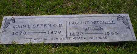 GREEN, PAULINE - Union County, Arkansas | PAULINE GREEN - Arkansas Gravestone Photos