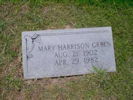 HARRISON GREEN, MARY - Union County, Arkansas | MARY HARRISON GREEN - Arkansas Gravestone Photos