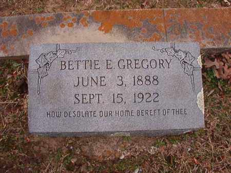 GREGORY, BETTIE E - Union County, Arkansas | BETTIE E GREGORY - Arkansas Gravestone Photos