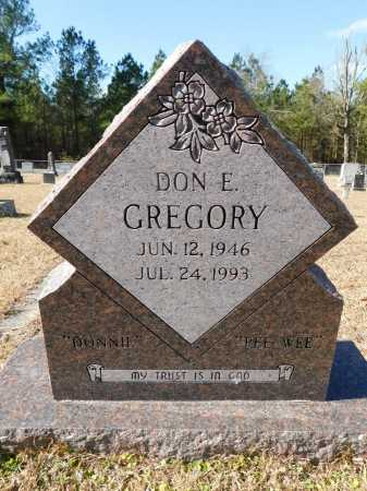 GREGORY, DON E - Union County, Arkansas | DON E GREGORY - Arkansas Gravestone Photos