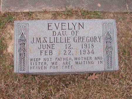 GREGORY, EVELYN - Union County, Arkansas | EVELYN GREGORY - Arkansas Gravestone Photos