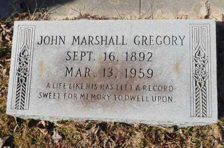 GREGORY, JOHN MARSHALL - Union County, Arkansas | JOHN MARSHALL GREGORY - Arkansas Gravestone Photos