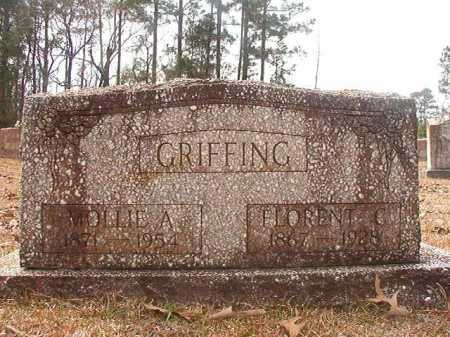 GRIFFING, MOLLIE A - Union County, Arkansas | MOLLIE A GRIFFING - Arkansas Gravestone Photos