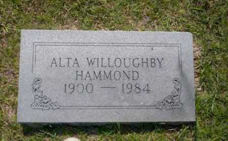 HAMMOND, ALTA - Union County, Arkansas | ALTA HAMMOND - Arkansas Gravestone Photos