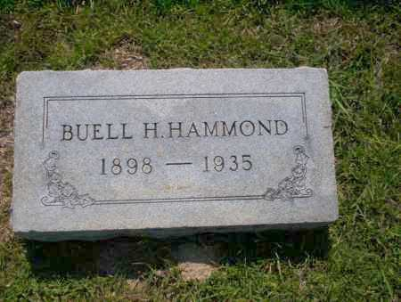 HAMMOND, BUELL H - Union County, Arkansas | BUELL H HAMMOND - Arkansas Gravestone Photos