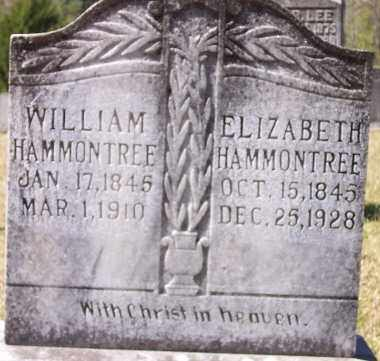 HAMMONTREE, ELIZABETH - Union County, Arkansas | ELIZABETH HAMMONTREE - Arkansas Gravestone Photos