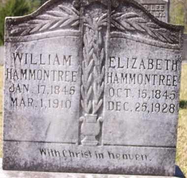 HAMMONTREE, WILLIAM - Union County, Arkansas | WILLIAM HAMMONTREE - Arkansas Gravestone Photos