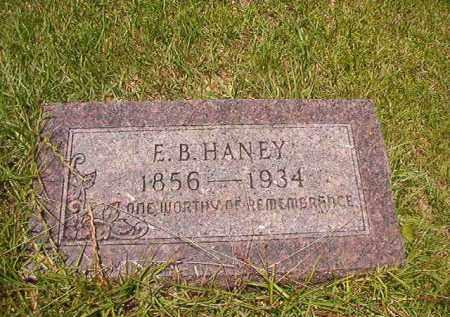 HANEY, E B - Union County, Arkansas | E B HANEY - Arkansas Gravestone Photos