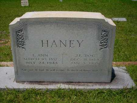 "HANEY, J.E. ""DOC"" - Union County, Arkansas 