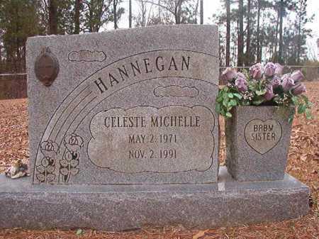 HANNEGAN, CELESTE MICHELLE - Union County, Arkansas | CELESTE MICHELLE HANNEGAN - Arkansas Gravestone Photos