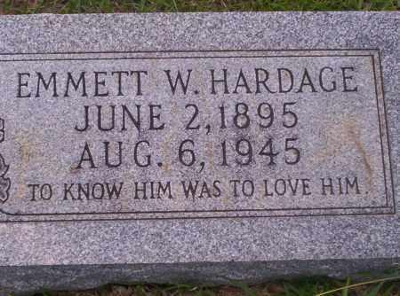 HARDAGE, EMMETT W - Union County, Arkansas | EMMETT W HARDAGE - Arkansas Gravestone Photos
