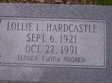 HARDCASTLE, LOLLIE L - Union County, Arkansas | LOLLIE L HARDCASTLE - Arkansas Gravestone Photos