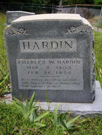 HARDIN, CHARLES W - Union County, Arkansas | CHARLES W HARDIN - Arkansas Gravestone Photos
