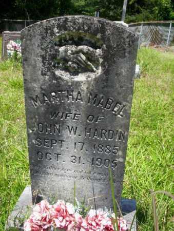 HARDIN, MARTHA MABEL - Union County, Arkansas   MARTHA MABEL HARDIN - Arkansas Gravestone Photos