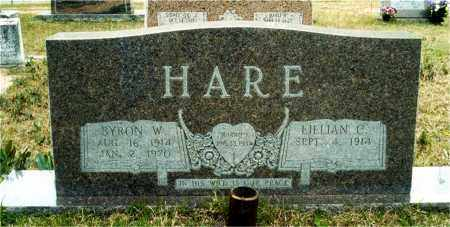 HARE, LILLIAN - Union County, Arkansas | LILLIAN HARE - Arkansas Gravestone Photos