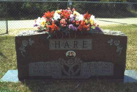 HARE, BERNARD A. - Union County, Arkansas | BERNARD A. HARE - Arkansas Gravestone Photos