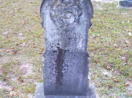 HARMAN, SOLOMON C - Union County, Arkansas | SOLOMON C HARMAN - Arkansas Gravestone Photos