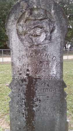 HARMAN, SOLOMON G. - Union County, Arkansas | SOLOMON G. HARMAN - Arkansas Gravestone Photos