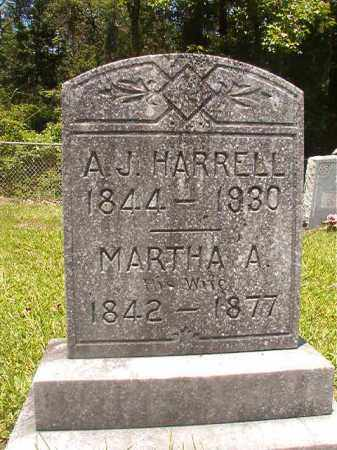 HARRELL, MARTHA A - Union County, Arkansas | MARTHA A HARRELL - Arkansas Gravestone Photos
