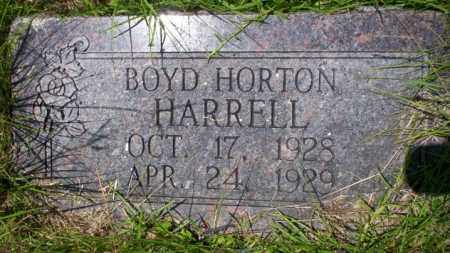 HARRELL, BOYD HORTON - Union County, Arkansas | BOYD HORTON HARRELL - Arkansas Gravestone Photos