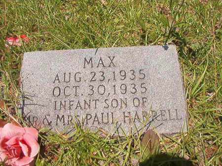 HARRELL, MAX - Union County, Arkansas | MAX HARRELL - Arkansas Gravestone Photos