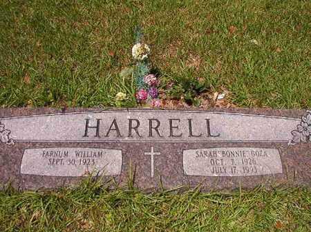 "GOZA HARRELL, SARAH ""BONNIE"" - Union County, Arkansas | SARAH ""BONNIE"" GOZA HARRELL - Arkansas Gravestone Photos"