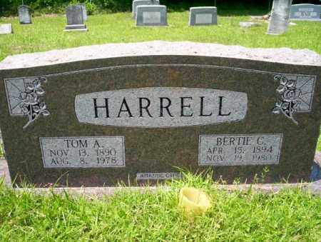 HARRELL, BERTIE C - Union County, Arkansas | BERTIE C HARRELL - Arkansas Gravestone Photos