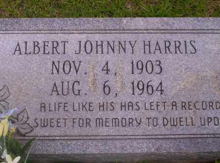 HARRIS, ALBERT JOHNNY - Union County, Arkansas | ALBERT JOHNNY HARRIS - Arkansas Gravestone Photos