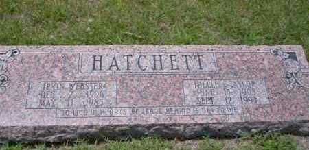 HATCHETT, IDELLE E - Union County, Arkansas | IDELLE E HATCHETT - Arkansas Gravestone Photos