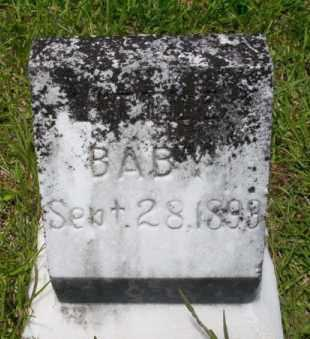HAYES, INFANT - Union County, Arkansas | INFANT HAYES - Arkansas Gravestone Photos