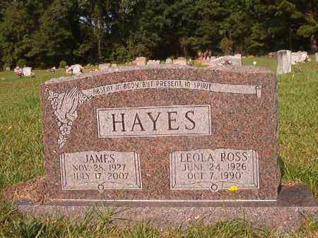 HAYES, JAMES - Union County, Arkansas | JAMES HAYES - Arkansas Gravestone Photos