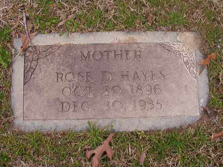 HAYES, ROSE D - Union County, Arkansas | ROSE D HAYES - Arkansas Gravestone Photos