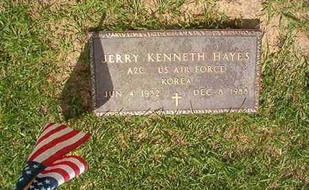 HAYES (VETERAN KOR), JERRY KENNETH - Union County, Arkansas | JERRY KENNETH HAYES (VETERAN KOR) - Arkansas Gravestone Photos