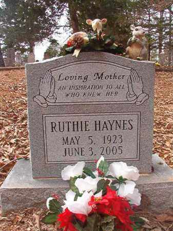 HAYNES, RUTHIE - Union County, Arkansas | RUTHIE HAYNES - Arkansas Gravestone Photos