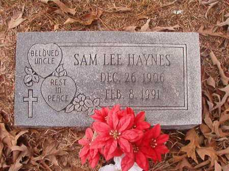HAYNES, SAM LEE - Union County, Arkansas | SAM LEE HAYNES - Arkansas Gravestone Photos